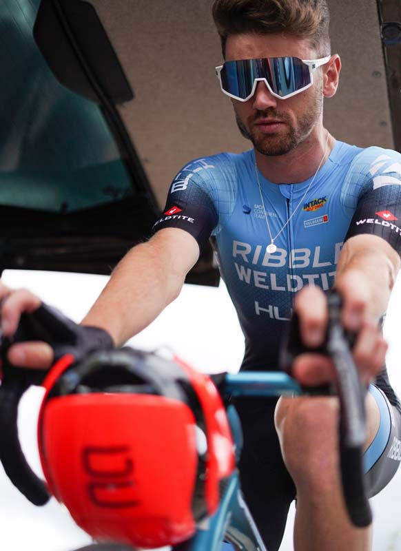 Professional British cyclist Cameron Jeffers iron levels soared by 77% by switching to a  vegan diet