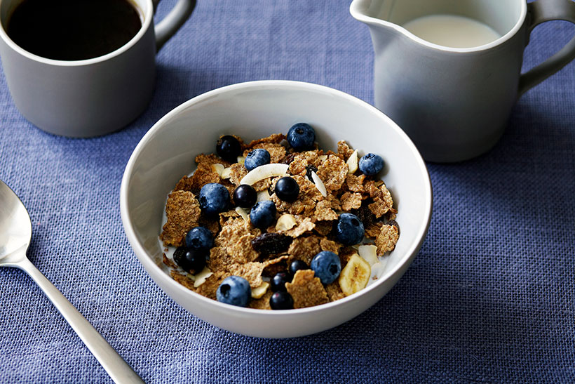 Fortified foods such as cereal are a good source of folic acid.