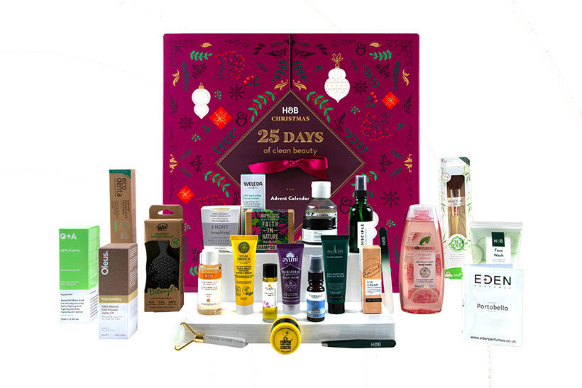 Holland & Barrett's beauty advent calendar is back with £170 worth of vegan products for £45