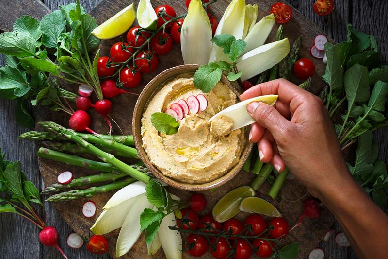 Chickpeas are great for savoury dishes like houmous