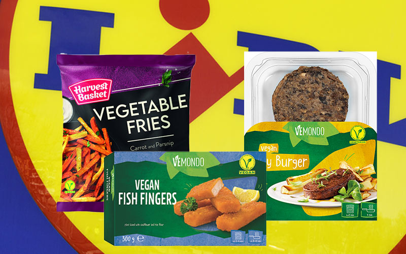 Lidl launches a new vegan range with prices starting at 99p