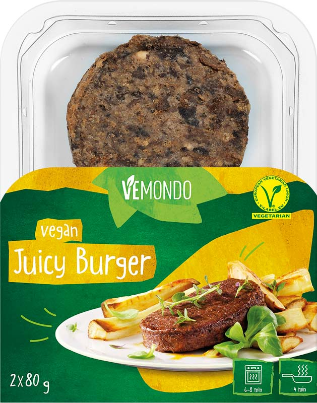 Lidl launches new vegan burgers for just £1.99