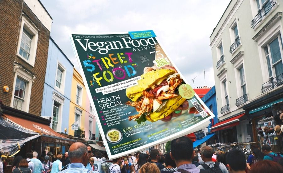 Cook up a street food extravaganza with the September issue of Vegan Food & Living