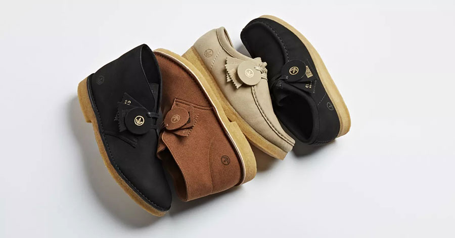 Clarks launches vegan versions of its iconic Wallabee and Desert Boots