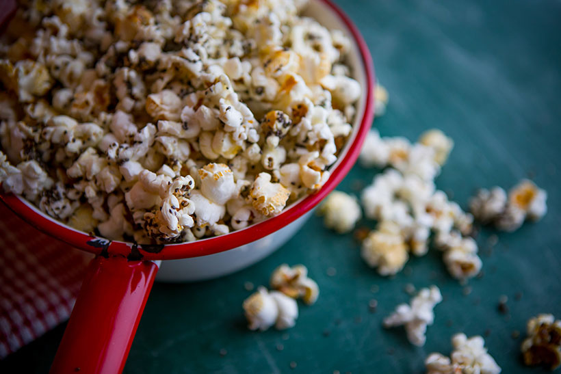 Sprinkle it on popcorn for a healthy savoury snack