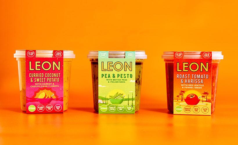 Sainsbury's LEON Vegan Breakfast Soups