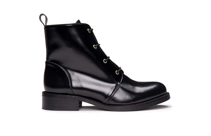 Melany vegan leather boots by NAE