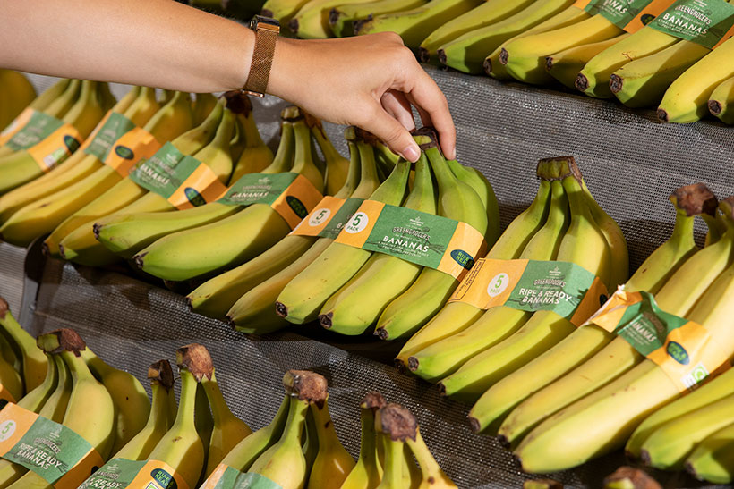 Following its plastic bag ban, Morrisons will now sell its bunched bananas in a paper wrap.