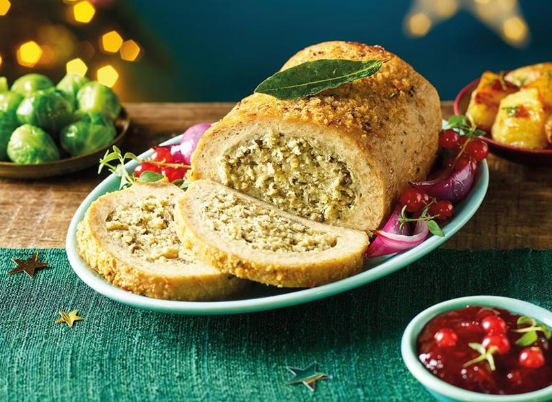 Morrisons Vegan Roast Joint with Herb & Onion Stuffing