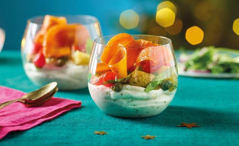 Morrisons vegan smoked salmon and cream cheese Christmas 2021