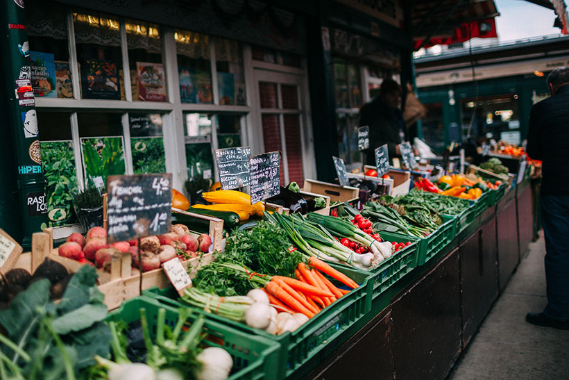 More manual labour and smaller yields make organic produce more expensive.