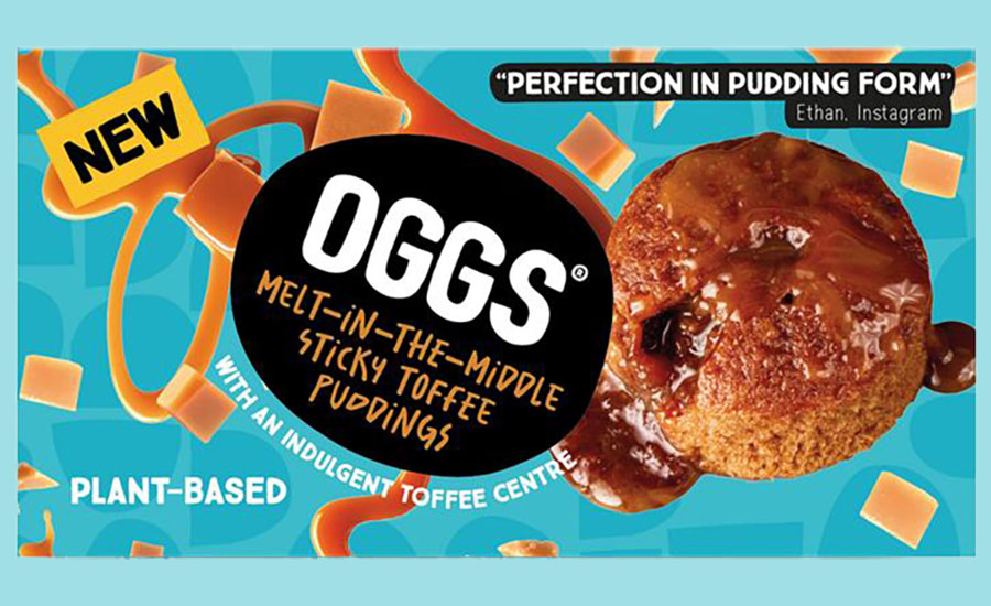 OGGS expands into vegan desserts with new melt in the  middle puddings