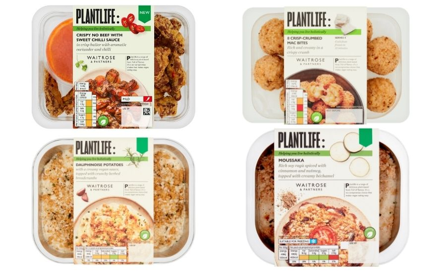 Waitrose releases its largest ever vegan range with 24 new products