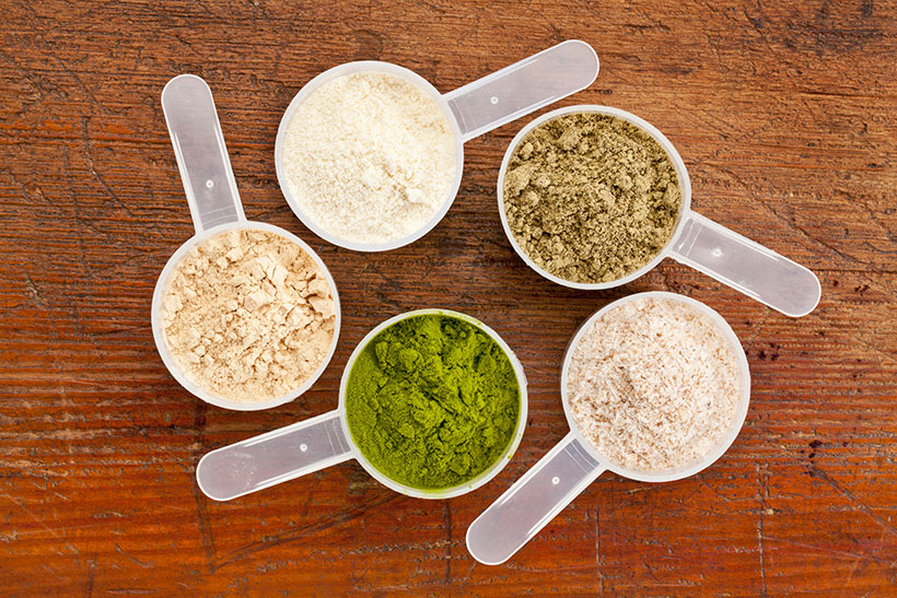 Pea, hemp, quinoa and soy products are all complete protein sources.