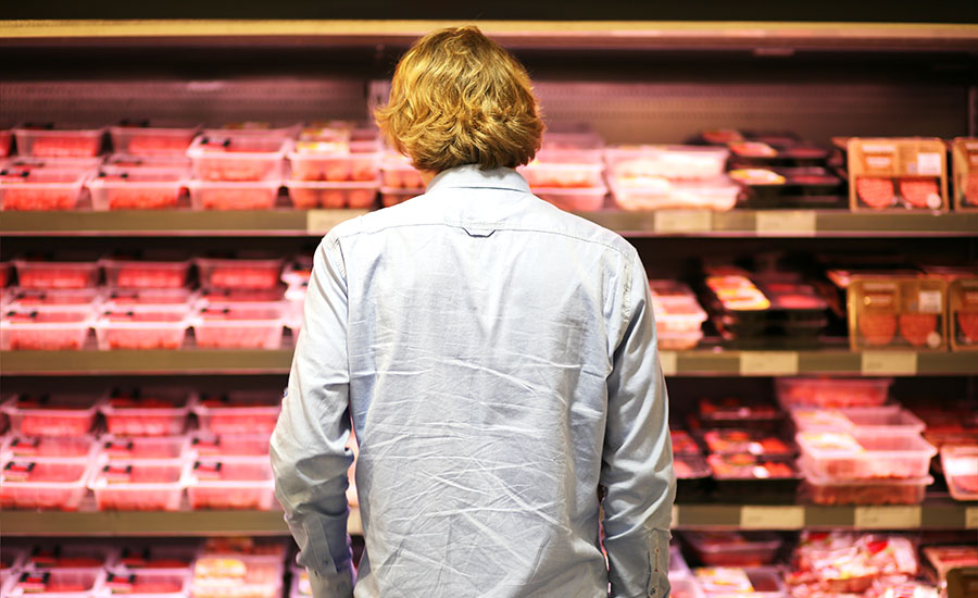 Should vegan products be sold in the meat aisle?