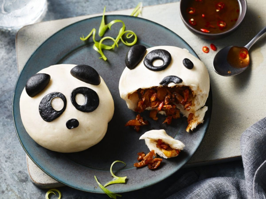 M&S launches vegan panda bao buns that are almost too cute to eat