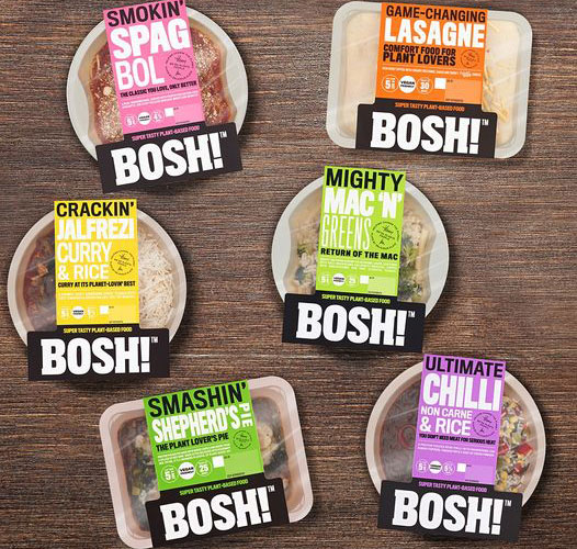 new vegan ready meals from bosh in morrisons