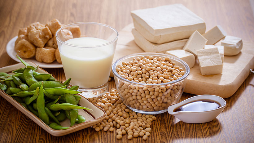 An 0.3% of the European population are allergic to soya, compared to cow's milk allergy which affects 6% of Europeans.