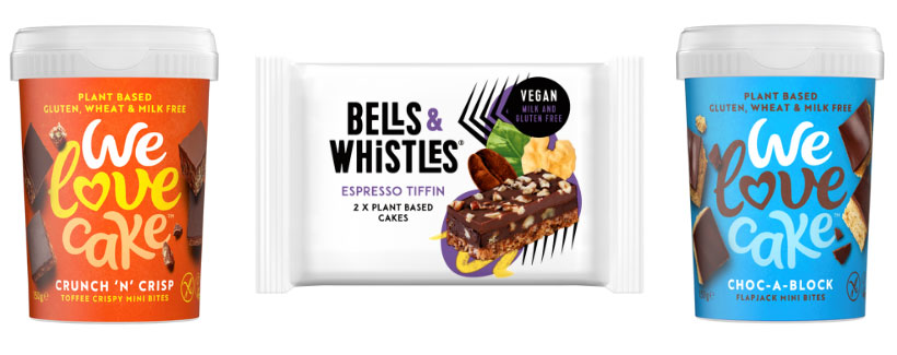 We love cake bites bells and whistles tiffin squeaky bean slices launch