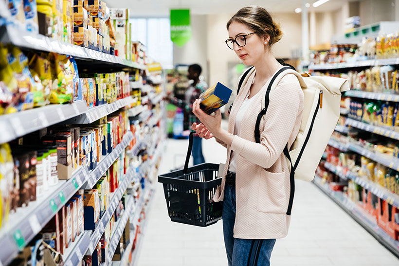 Checking food labels is a vegan superpower!