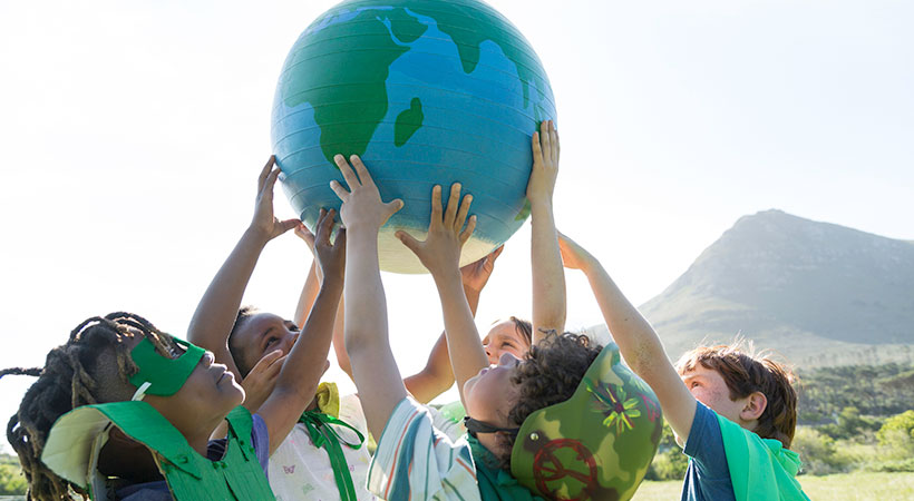 children want to be meat-free environmental care