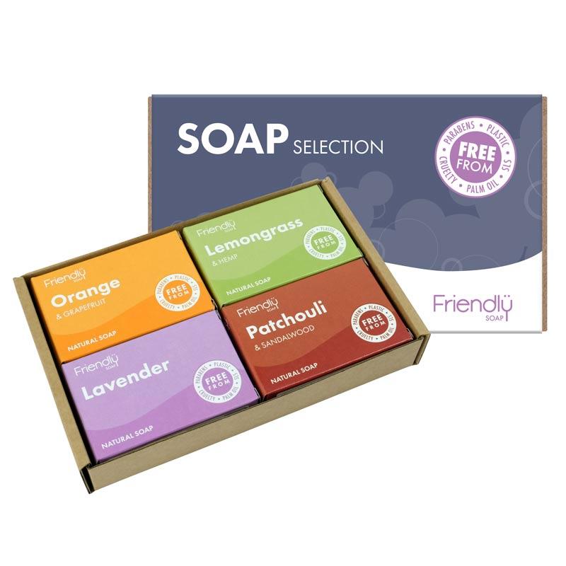 Friendly Soap vegan selection