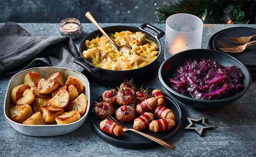 Let's get festive with the M&S vegan Christmas range for 2021