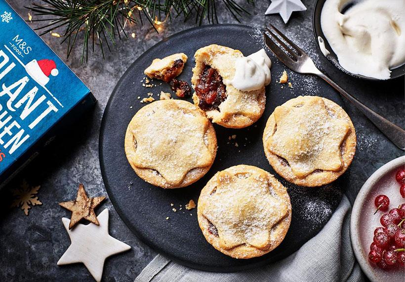 <&S vegan christmas mince pies