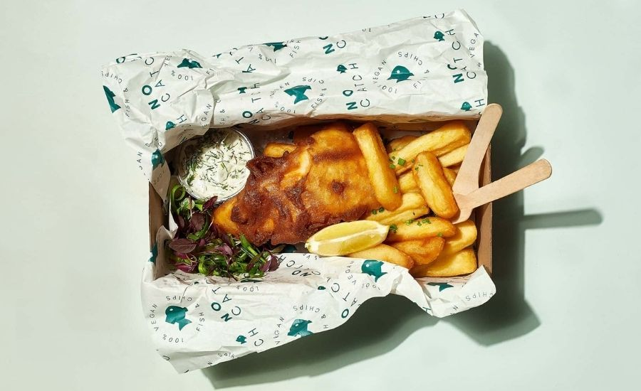 The No Catch Co. opens to save the oceans with vegan fish & chips