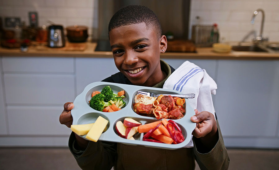 UK's youngest vegan chef fronts 'For Kids By Kids' vegan school meals campaign