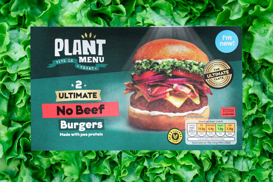 Aldi launches its ultimate vegan burger that's 60% cheaper than Beyond Meat