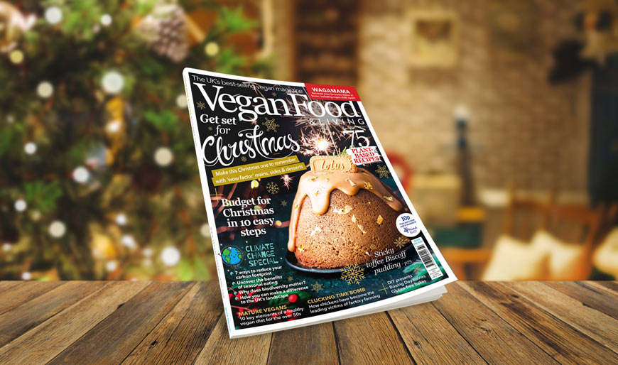 Get set for your best ever vegan Christmas