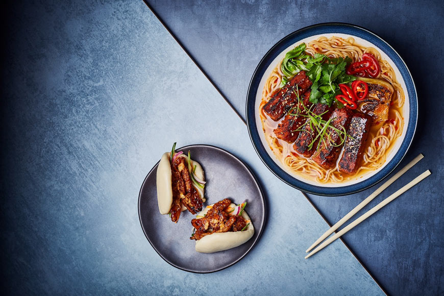 Wagamama introduces its new menu that is 50% plant-based