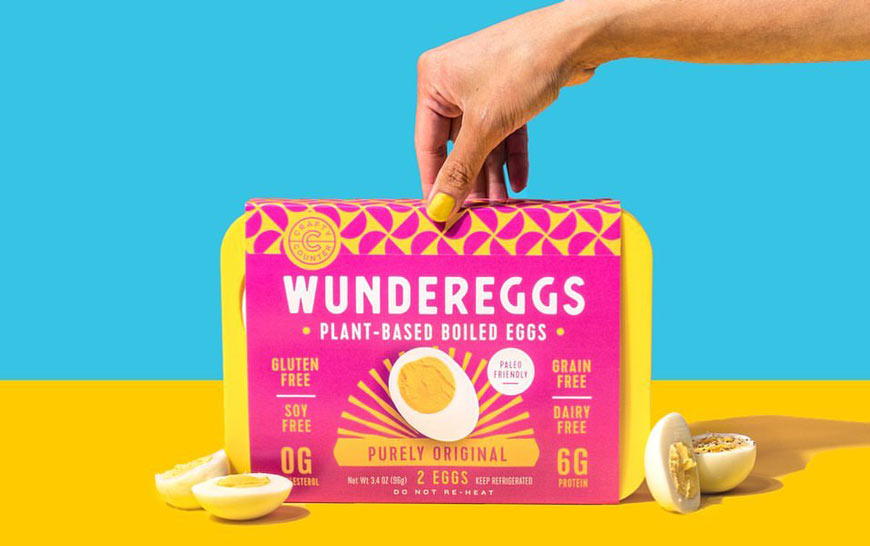 Crafty Counter cracks the first whole food vegan boiled egg!