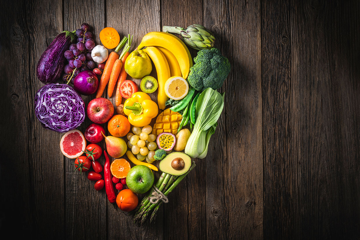Heart healthy foods: how a vegan diet can help maintain a healthy heart